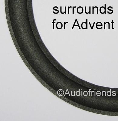 10 inch FOAM rand VLAKKE binnenlip voor Advent