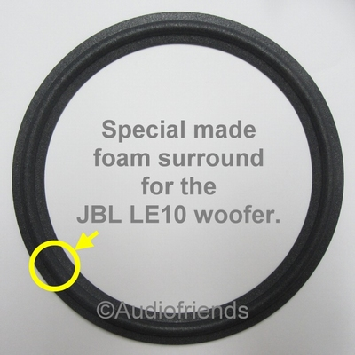 10 inch FOAM rand voor speaker reparatie JBL LE10