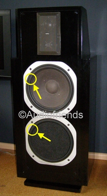 1 x Foam surround 12 inch for Revox Symbol B  |  BR530