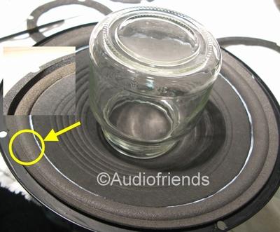 1 x Schaumstoff Sicke für Reparatur JBL TLX50, TLX70, TLX130