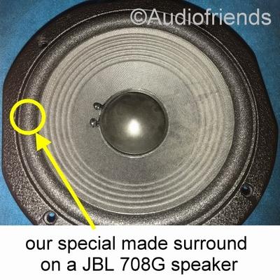 1 x Schaumstoff Sicke für Reparatur JBL L3 - 708G-1 / 708G-2