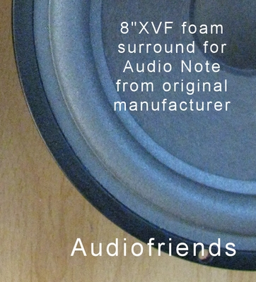 1 x Schaumstoff Sicke Reparatur Audio Note / Seas Sicke