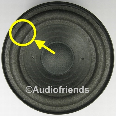 RFT BR25, BR26, 7102 - Repairkit foam surrounds for speakers