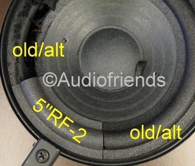 RFT BR25 - 1 x Schaumstoff Sicke für Reparatur Lautsprecher