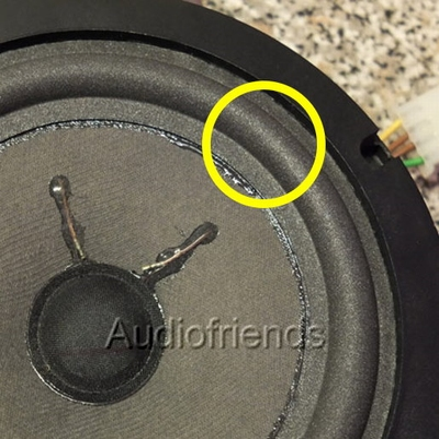 1 x Schaumstoff Sicke für Blaupunkt 8637621178/9 (Porsche)