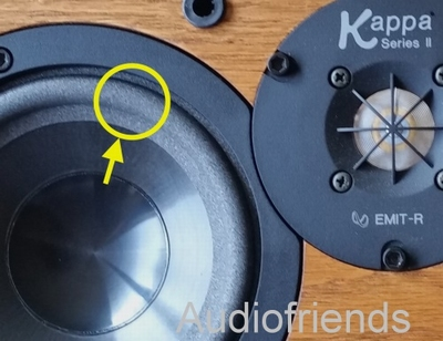 1 x Foamrand Infinity Kappa series I, RS Video center