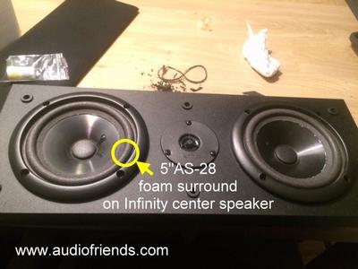 1 x Foamrand Infinity Kappa series I, RS Video center