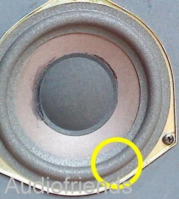 1 x Schaumstoff Sicke Royd Audio A-7, Sapphire II's, Edge
