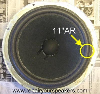 1 x Foamrand AR3a, AR9, AR10phi, AR11, AR LST