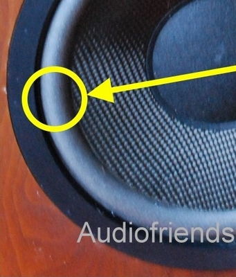 1 x 8 inch Foam surround Altec Lansing 1, 201, 205, 208, 508