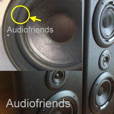1 x Foam surround for repair Philips FB670 & FB671 speaker