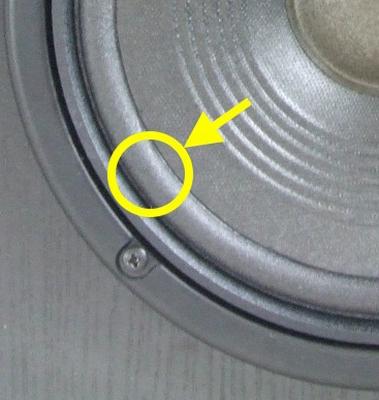 1 x Foamrand voor reparatie JBL L4