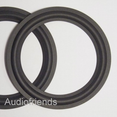 4 x RUBBER 6,5 inch surrounds for JBL, Magnat Project 4.1