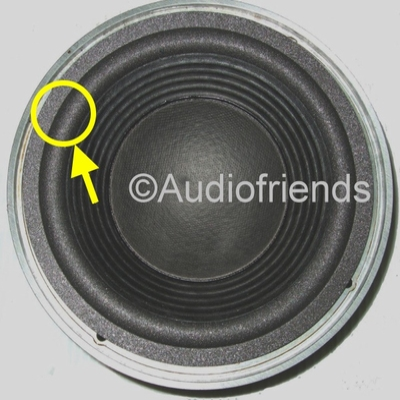 1 x Foam surround for repair JBL LX2005 speaker