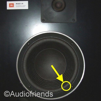 JBL Studio Monitor 4408 - 116H-2 - 1x Foam surround