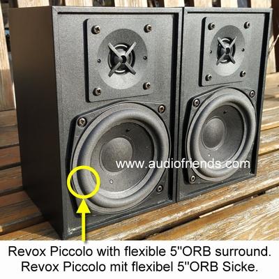 1 x Schaumstoff Sicke Revox Piccolo mk1/mk2
