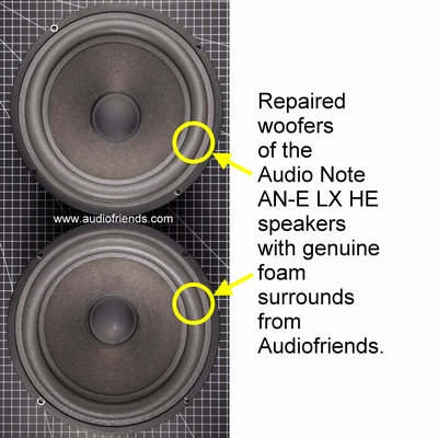 1 x Audio Note AN-E originele foamrand (SEAS A21 FE/B)
