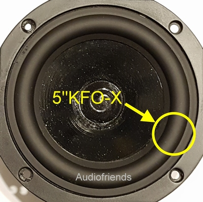 1 x RUBBER rand voor Focal 5N401, 5N402, etc.
