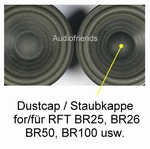 6 x Dustcap for RFT BR25, BR26, BR50, BR100, 7102