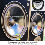 1 x Foam surround for Vifa C17WH-09 / C17WH-08 / C17WG-69