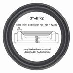 1 x Schaumstoff Sicke Vifa C17WH-09 / C17WH-08 / C17WG-69