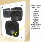 1 x Schaumstoff Sicke für Orbid Sound Pluto, Mini Craft
