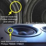 Reparatieset foam Philips FB820/FB821 - GEEN lijm/penseel