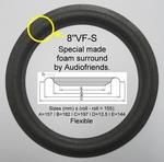 JPW - AP3 - Vifa M21WG-09 - 1 x Schaumstoff Sicke