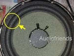 1 x Foam surround for repair most 8 inch KLH speakers