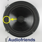 4 x Foam surround for Audiolab Largo - Vifa - Flexible