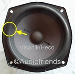 1 x Foam surround for repair Heco/Visonik Convection 1