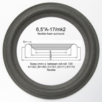 1 x Foam surround for Dahlquist DQM-6C woofer