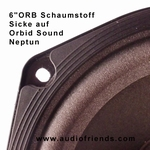 Orbid Sound Neptun speaker - 1x Foam surround for repair