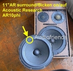 1 x Foam surround for Acoustic Research 11/12 inch speaker