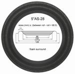 Repairkit foam surrounds for Acoustic Energy AE109 speaker