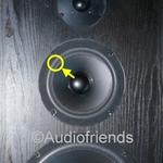 1 x Foamrand voor midrange Acoustic Research BX55