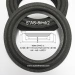 1 x Foamrand voor Videoton Minimax speaker - flexibel
