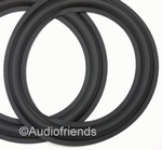 1 x RUBBER surround for Mirsch OM 2-28, 3-38, 2-21, 50