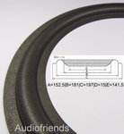 1 x Foam surround for repair GENESIS 8300F speaker