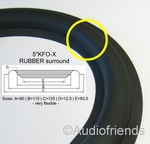 1 x RUBBER surround for repair Seas M14 speaker (Kurt M.)