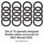 20 x RUBBER rand Bang & Olufsen Beolab 6000/3500 speaker
