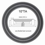 Dali 107/109 - 1x Foam surround for Vifa M25WO-15