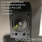 Genexxa Pro LX5 - Optimus - Linaeum Repairkit foam surrounds