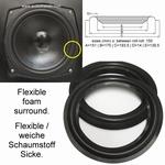 1 x Foamrand voor reparatie MB Quart QL SP2 speaker