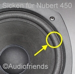 1 x 10 inch Foam surround for Nubert 690 speaker