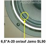 Reparatursatz Schaumstoff Sicken für Kendo 70 speakers