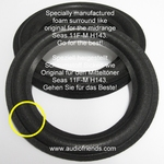 1 x Foam surround for repair Quadral M135/25/6/PF/AA