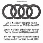 1 x RUBBER rand voor Bang & Olufsen MCMXCII speaker