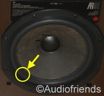 1 x Foam surround for Acoustic Research AR98LS bass