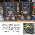 RFT BR50 - Reparatieset foam voor reparatie luidspreker